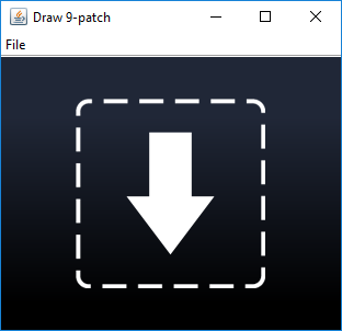 Android 9 Patch Image Files for Buttons and Borders | Tek Eye