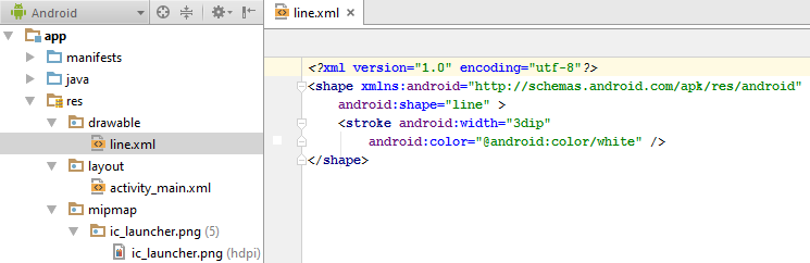 how to add image in drawable folder in android studio