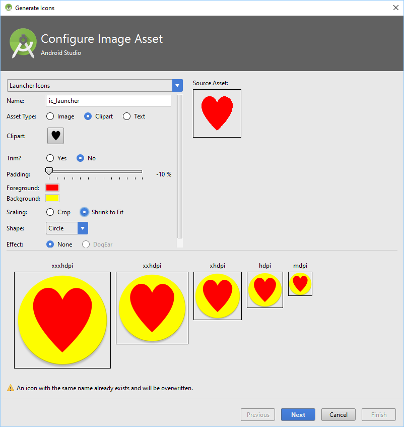 Launcher icon generator in android studio tek eye android icon generator voltagebd Image collections