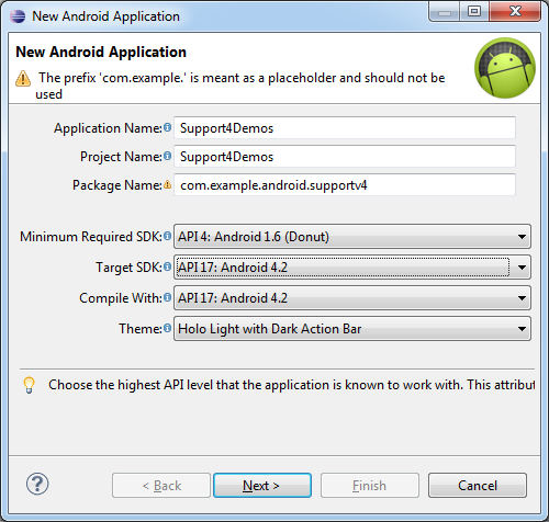 Support Library Samples in the Android SDK | Tek Eye