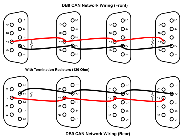 can bus wiring diagram, a basics tutorial | tek eye can bus wiring