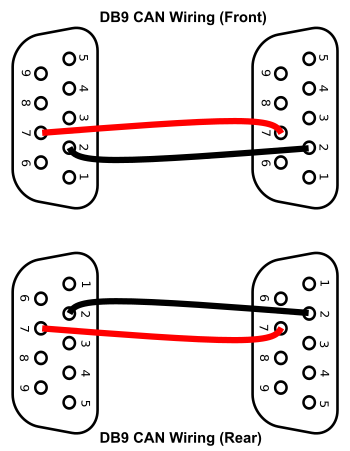 Db9 Wiring Diagram on rj45 connector wiring diagram