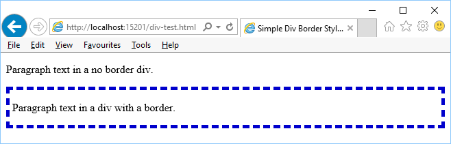 Div Border Style For Html Tek Eye - How To Give Border Color Table In Html