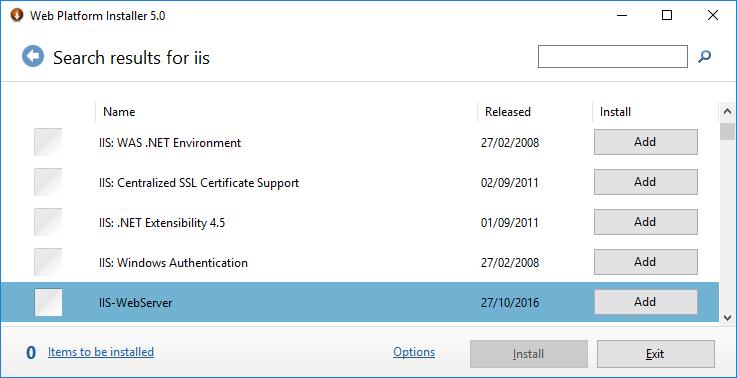 Install PHP on Windows with Web Platform Installer | Tek Eye